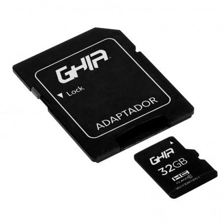 MEMORIA GHIA 32GB TIPO MICRO SD CLASE 10 CON ADAPTADOR