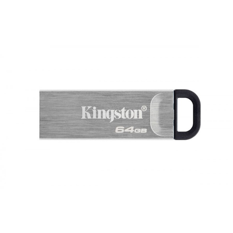 MEMORIA KINGSTON 64GB USB 3.2 ALTA VELOCIDAD / DATATRAVELER KYSON METALICA