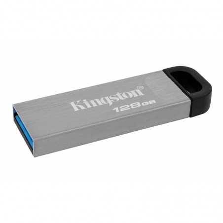 MEMORIA KINGSTON 128GB USB 3.2 ALTA VELOCIDAD / DATATRAVELER KYSON METALICA