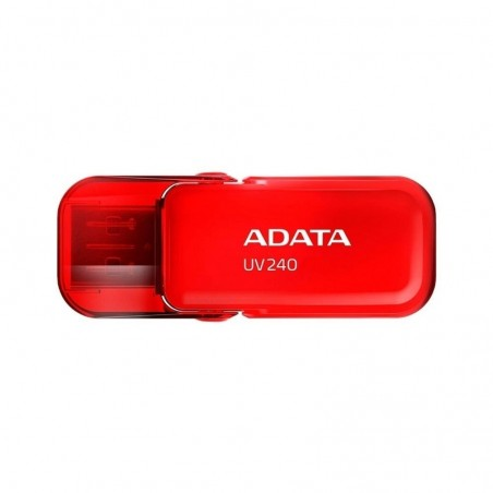 MEMORIA ADATA 32GB USB 2.0 UV240 ROJO
