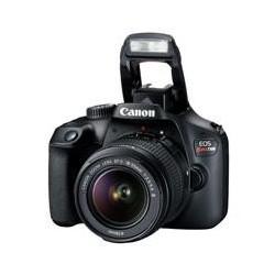 CAMARA CANON EOS REBEL T100 18 MP CMOS PANTALLA 2.7, FULL HD 30P EF-S 18-55MM F/3.5-5.6 III