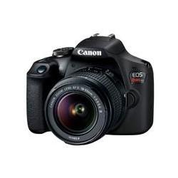 CAMARA CANON EOS REBEL T7 24.10 MP C/LENTE 18-55MM, CMOS, WIFI, NFC, LCD 3.0 FULL HD