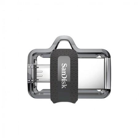 MEMORIA SANDISK 16GB USB 3.0 / MICRO USB ULTRA DUAL DRIVE M3.0 OTG 130MB/S