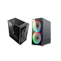 GABINETET BALAM RUSH GAMING MEDIA TORRE ATX/MICRO ATX/MINI ITX/2 VENT RGB/USB 3.0/ KRAKEN/COLOR NEGRO/BR-929608