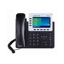 TELFONO IP COLOR GIGABIT PARA 4 LNEAS 4 CUENTAS SIP AUDIO HD BLUETOOTH 2.1POE Y FUENTE DE ALIMENTACION INCLUIDA