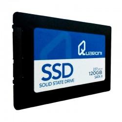 UNIDAD DE ESTADO SOLIDO SSD QUARONI 2.5 120GB SATA3 6GB/S 7MM LECT 410MB/S ESCRIT 170MB/S.