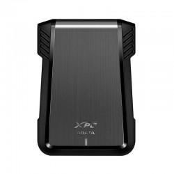 CARCASA ADATA EX500 XPG PARA DISCOS DUROS/SSD 2.5 PULGADAS 7MM/9.5MM SATA3/USB3.2 NEGRO CASE PC