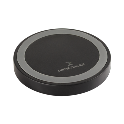 CARGADOR INALAMBRICO QI PERFECT CHOICE 5W FAST CHARGE COLOR NEGRO
