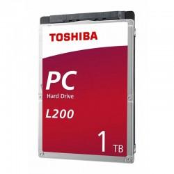 DD INTERNO TOSHIBA L200 2.5 1TB//SATA3//6GB/S //128MB CACHE//5400RPM//7MM//P/NOTEBOOK//PORTATIL//LAPTOP