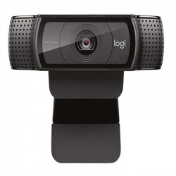 CAMARA WEB LOGITECH C920 FULL HD 1080P FOTO 15 MP ENFOQUE AUTOMATICO 2 MICOFONOS USB PC/MAC/ANDROID