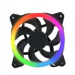 VENTILADOR OCELOT / GAMER / PARA GABINETE/ 120MM / CONEXION 6 PINES / ILUMINACION RGB/ COMPATIBLE CON KIT OCELOT OGPF01