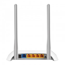 ROUTER INALAMBRICO TP-LINK TL-WR850N WISP 300MBPS 802.11N/G/B 4 PUERTOS LAN 10/100 1 PUERTO WAN 10/100 2 ANTENAS FIJAS EXTERNAS