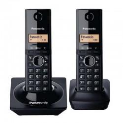 TELEFONO INALAMBRICO DECT BASE + HANDSET LCD 1.25 CALLER ID COLOR NEGRO