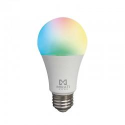 FOCO INTELIGENTE LUZ RGB 10W// MIRATI // WIFI 2.4GHZ // COMPATIBLE CON ANDROID E IOS // FUNCIONA CON ALEXA Y ASISTENTE DE GOOGLE