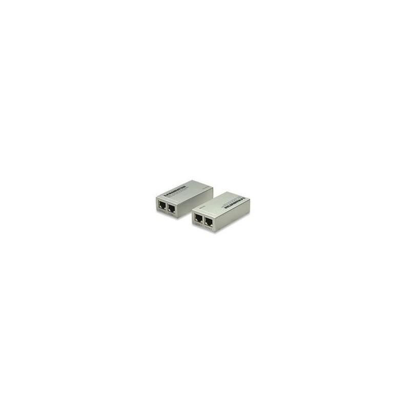 KIT EXTENSOR HDMI MANHATTAN  VIA UTP RJ45 CAT5E/CAT6 1080P HASTA 60M